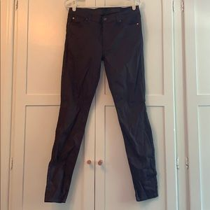 7 For All Mankind Maroon Pants